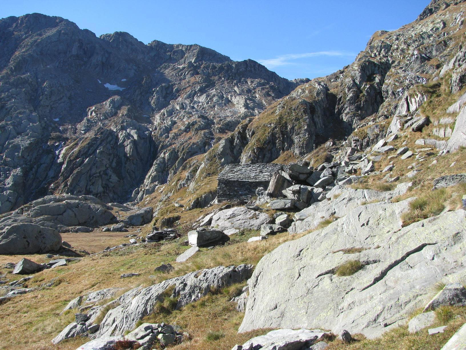Seconda baita dell'Alpe Prà