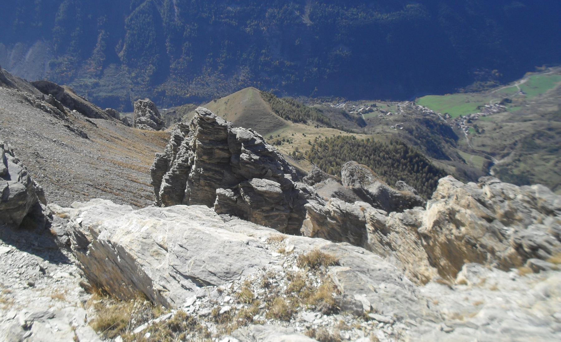 Nebius (Monte) da Sambuco per valloni della Madonna e degli Spagnoli 2014-10-24