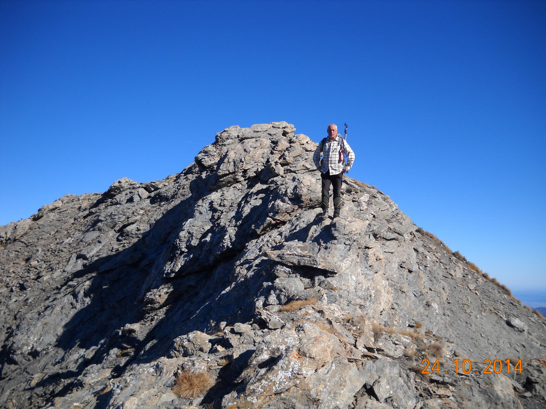 sulla cresta verso il colle valletta
