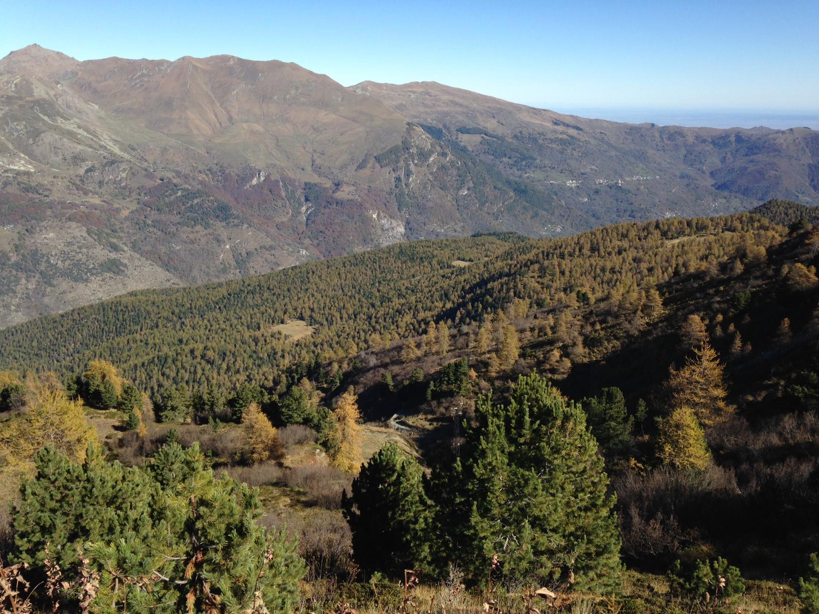 Panorama dal Colle di Sampeyre