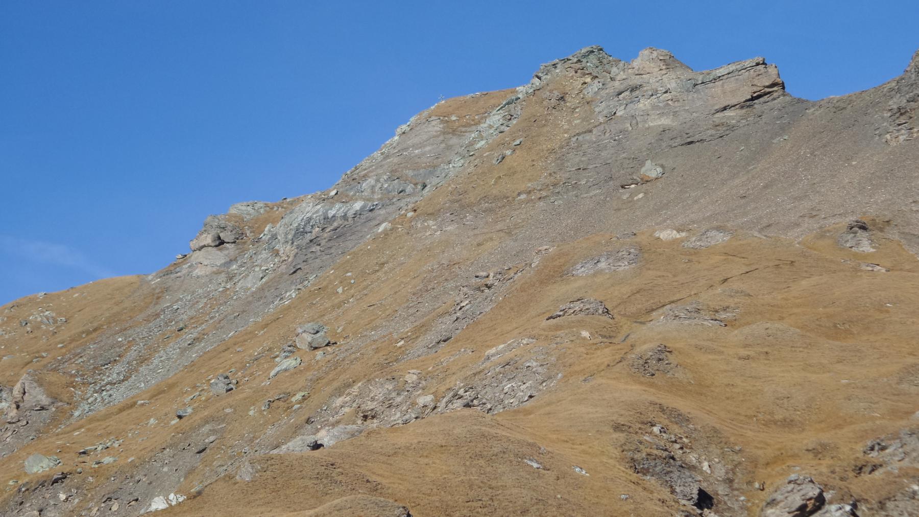 il Corno Bussola osservato dal Passo Bussola