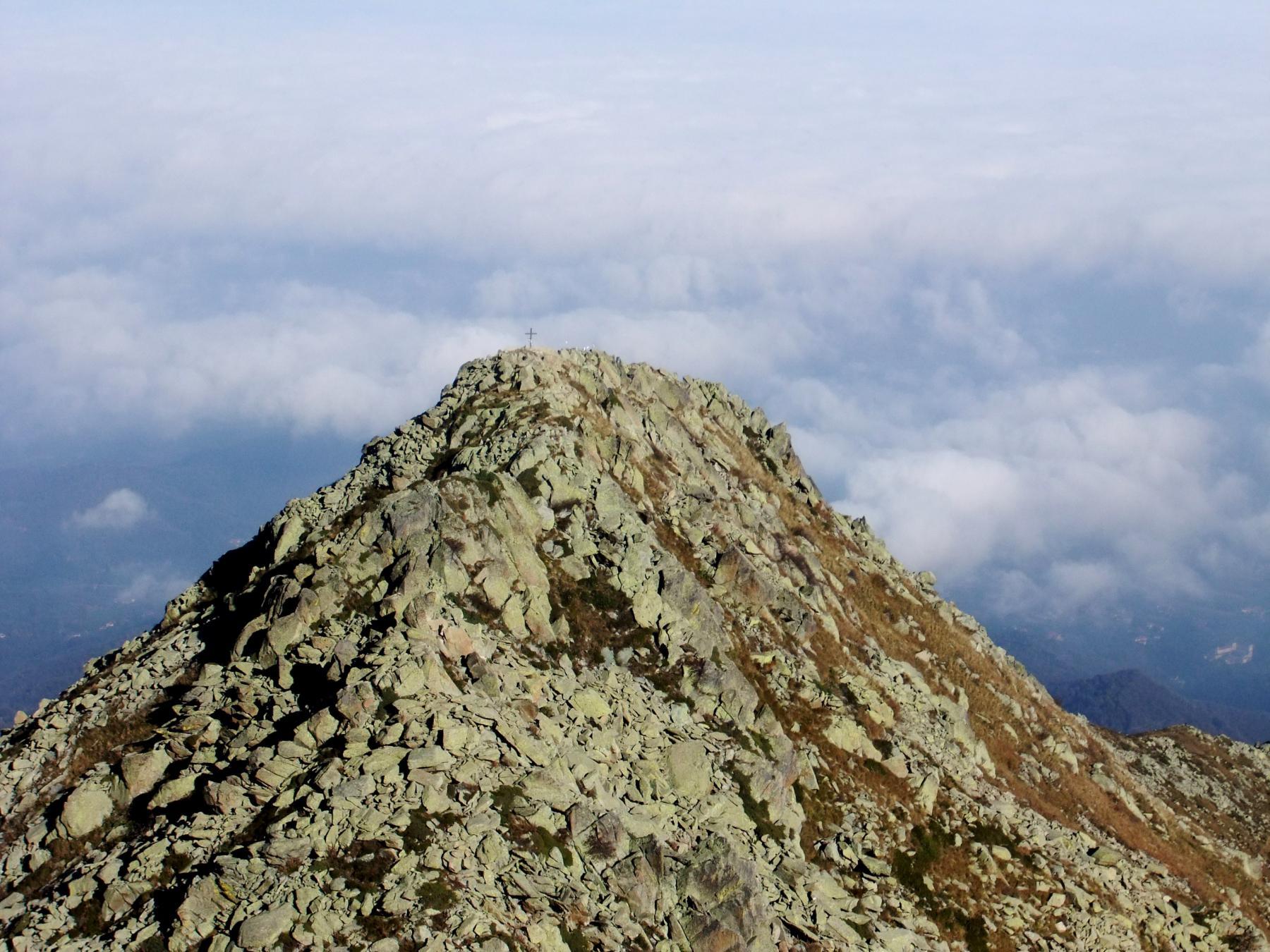 La cima minore della Besimauda