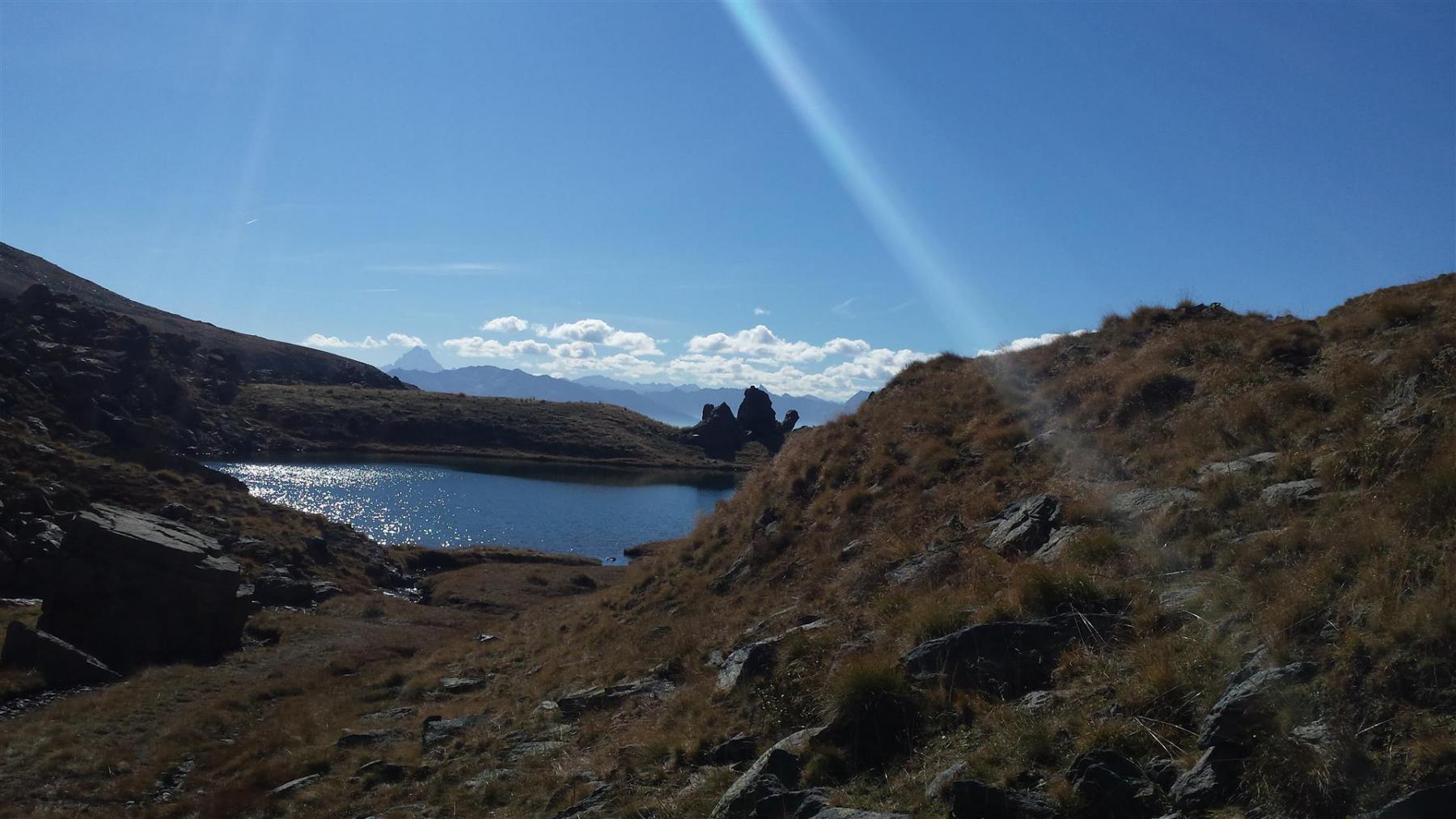 il lago La Manica