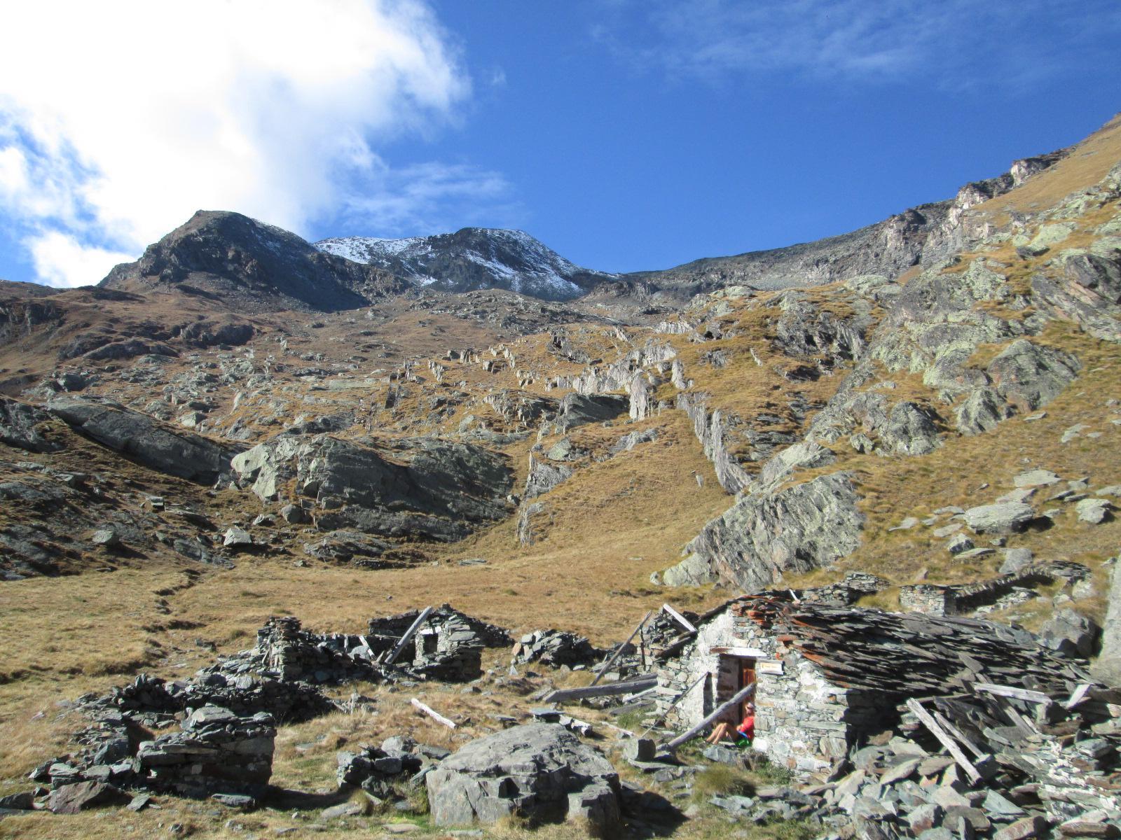 parte alta del vallone del Pousset