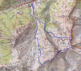 cartina del giro