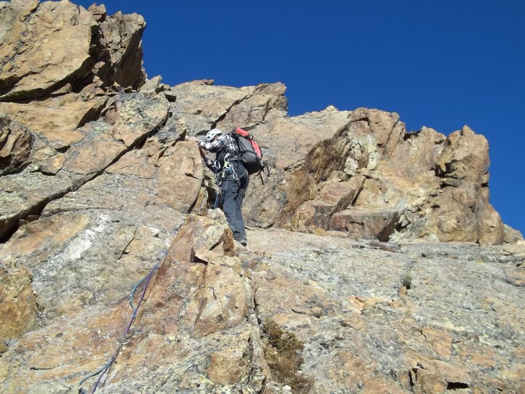 Invergnaou (Becca d') da Bionaz per il Col du Mont Echeut e la Cresta Ovest 2014-10-26