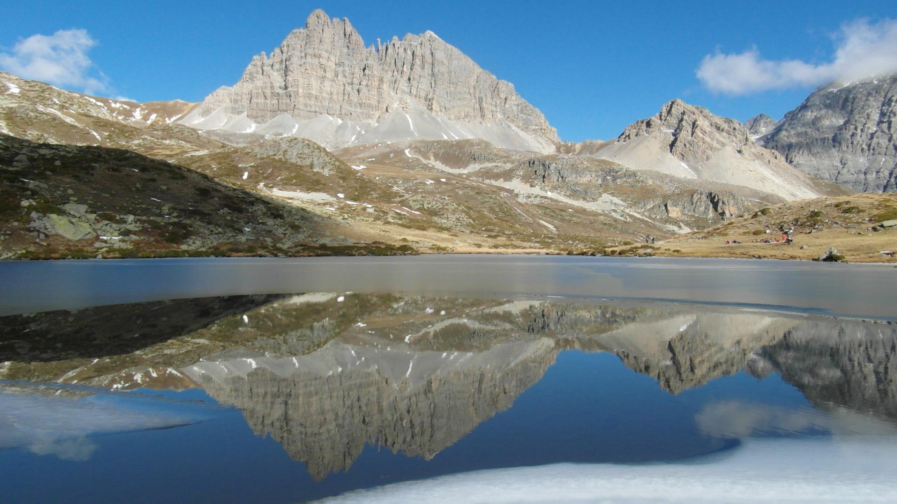 Lavoir (Lac) da Grange di Valle Stretta 2014-10-26