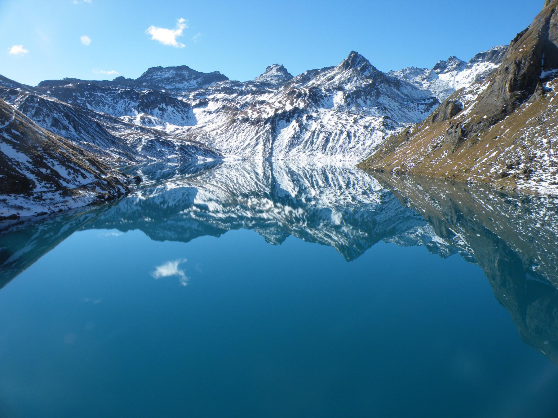 il lago del Vannino