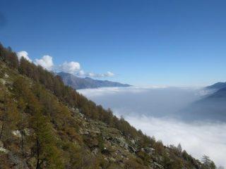 nuvole sulla Valsusa