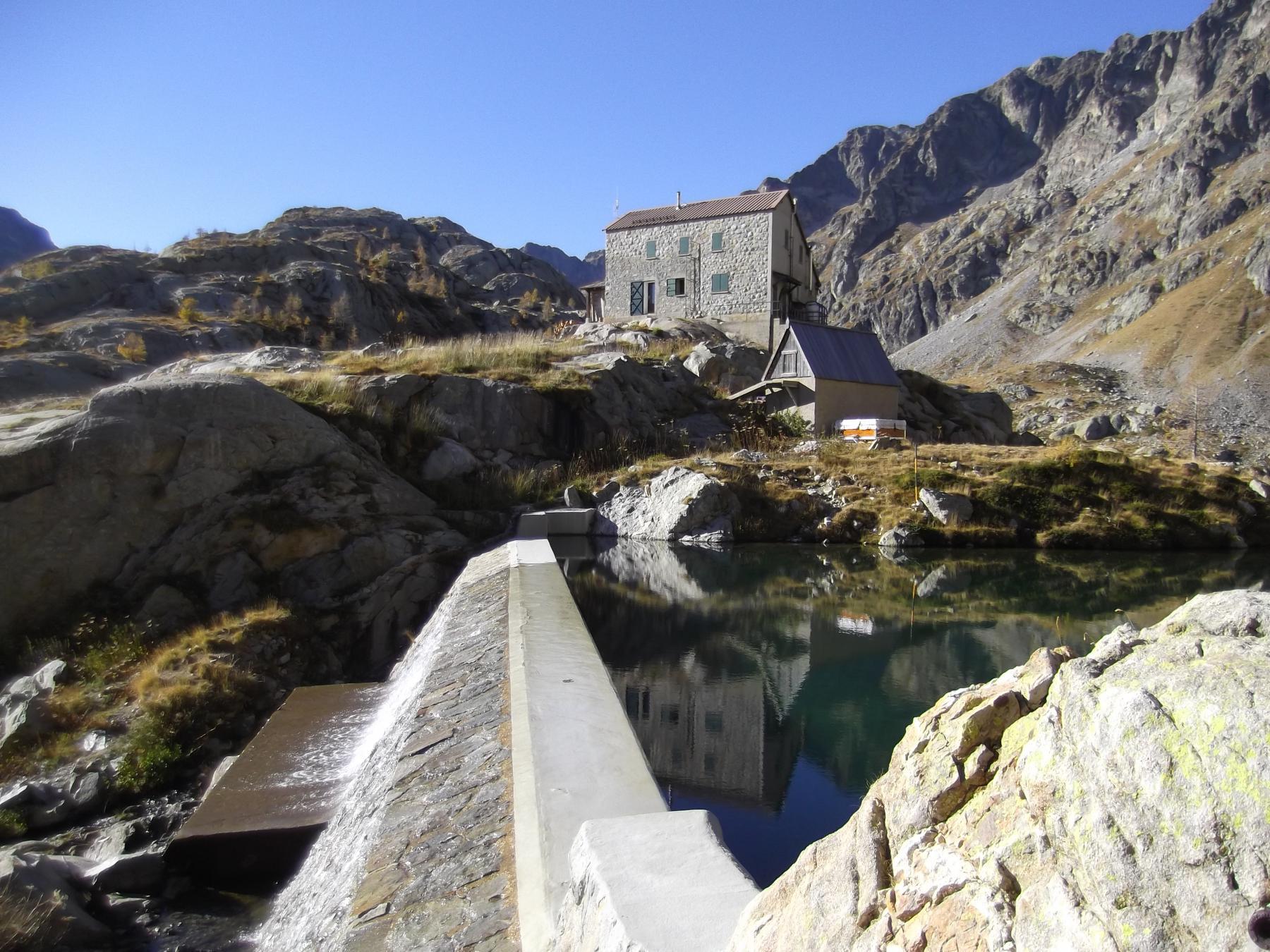 Charnassere Ovest (Cima) e Cima Cossato da Casterino, anello per i Valloni Valmasque e Agnel 2014-10-27