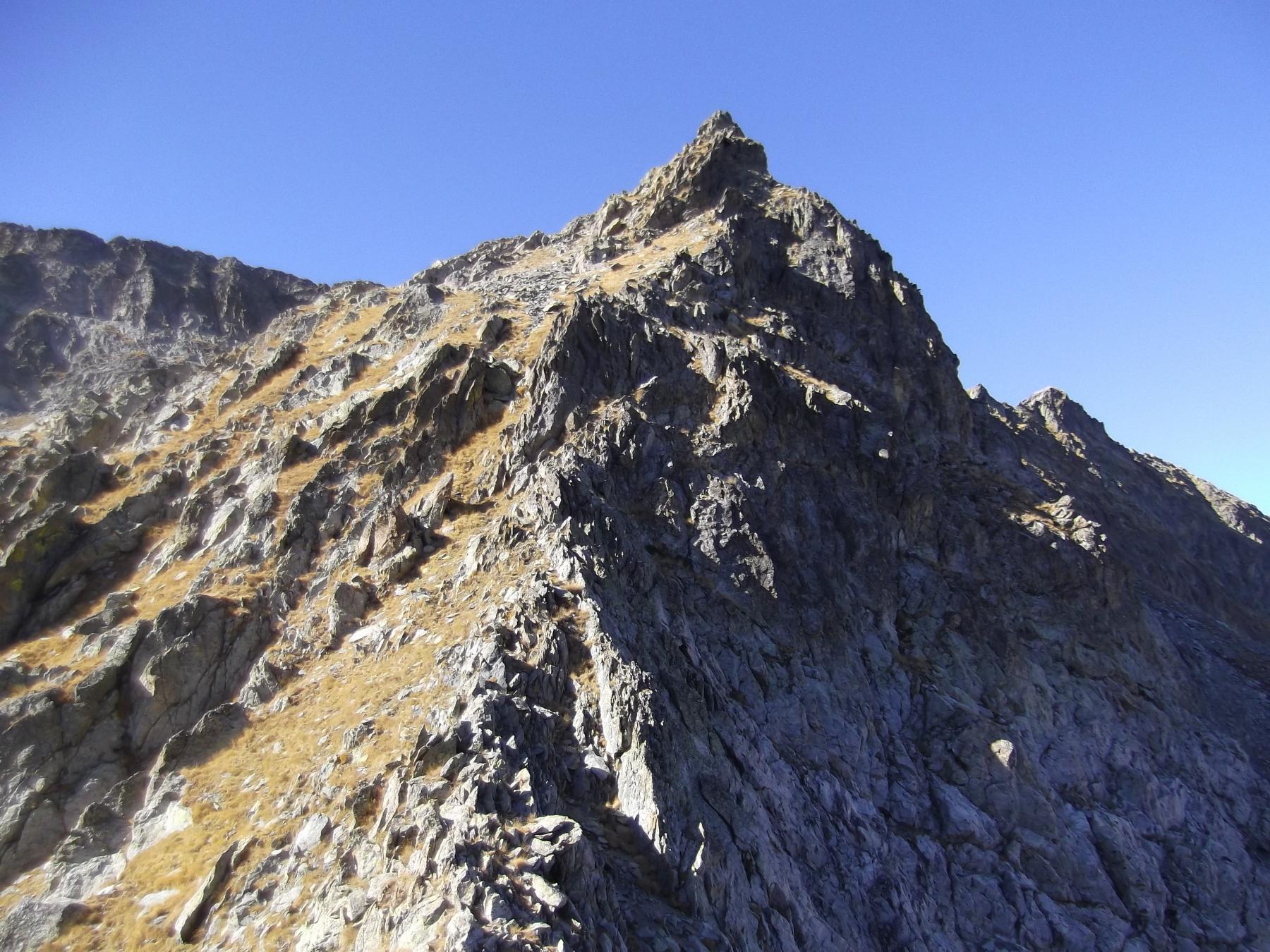 la cresta per Cima Cossato