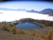 il lago Lod a forma di cuore