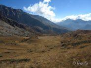Il vallone verso il Col de Salese
