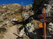 Bivio Laghi delle Terre Rosse - Colle Mercera