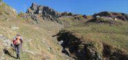 La Punta Belvedere nei pressi dell'Alpe Marmotta