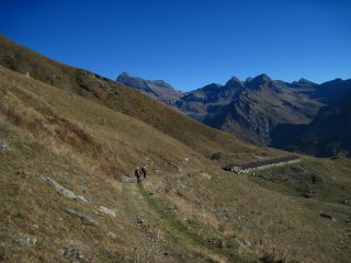 Scendendo all'Alpe Vascoccia