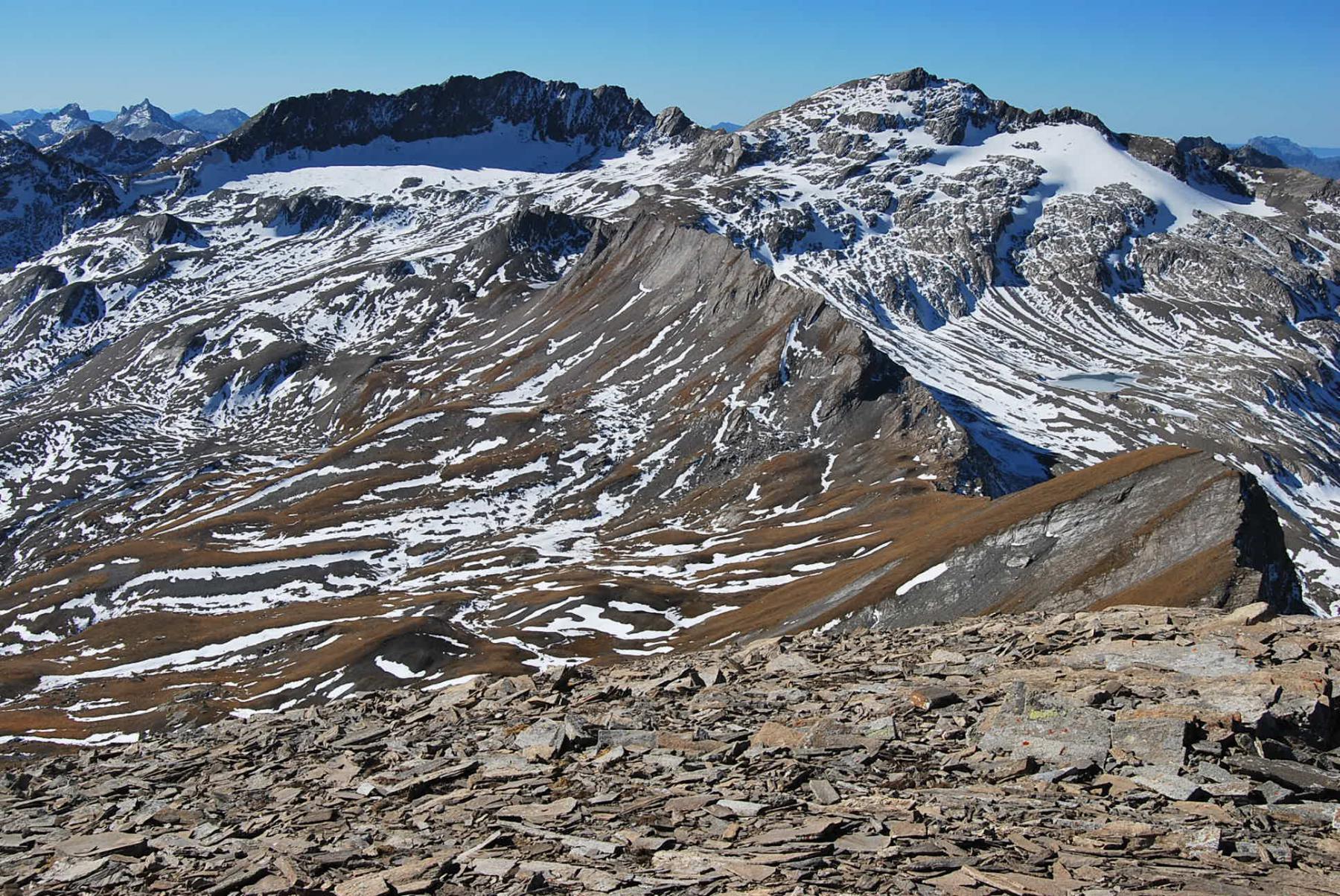 Colle Breuil, La Forclaz, Punta Lechaud, Bassa Serra ed il Colle Bassa Serra