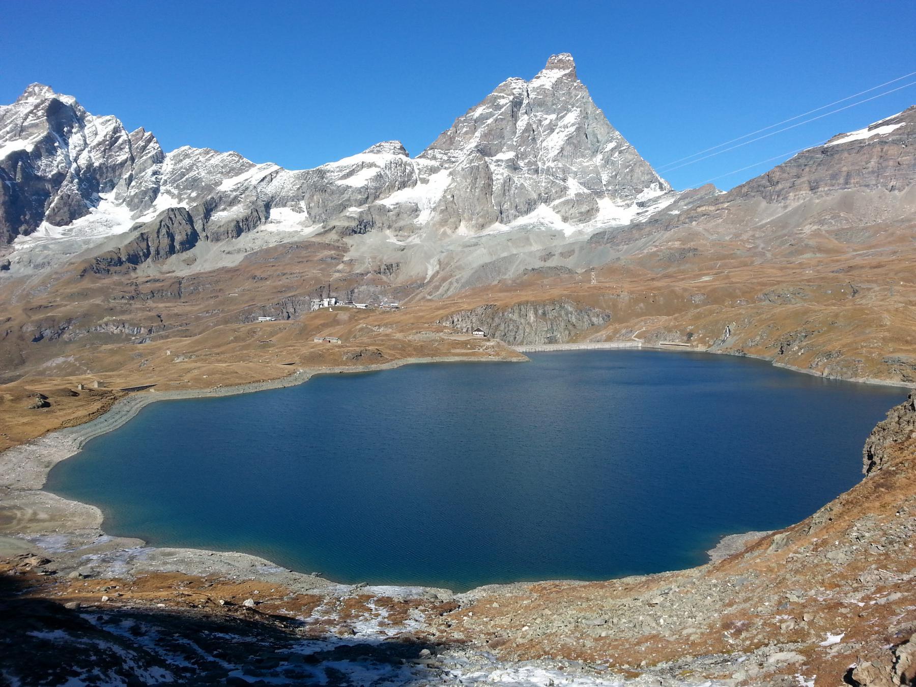 Lago Goillet e Cervino