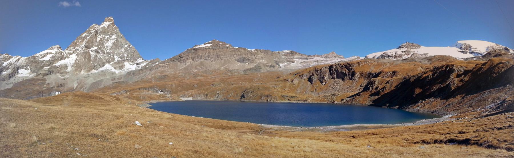 Cervino. Lago Goillet e Plateau Rosa
