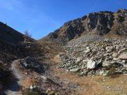 Verso il Col de la Vallette des Adus