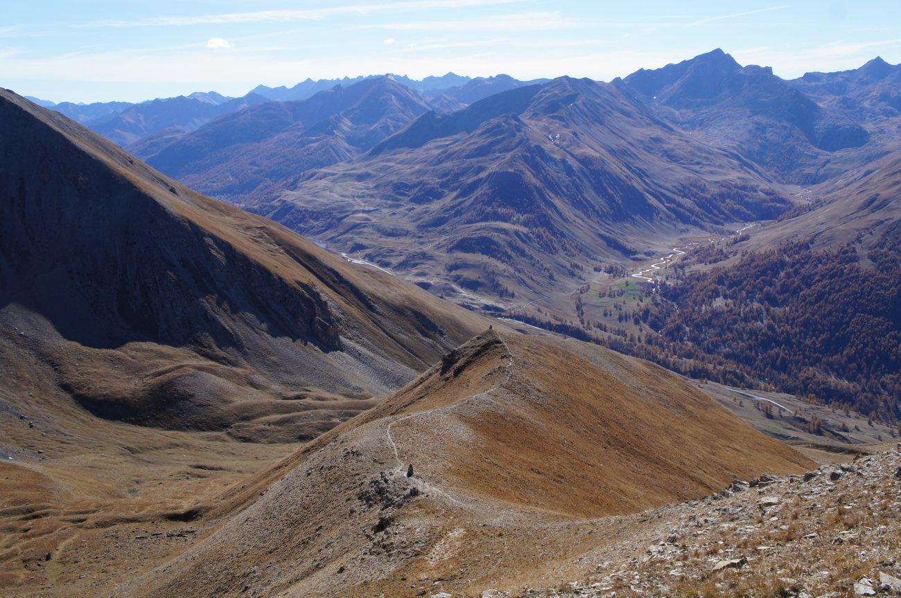 Dure (Tete) da le Pontet, giro del Bec du Lievre per il Col de la Gypiere 2014-11-01
