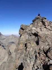 12 - la cima nord vista dalla selletta tra le due cime