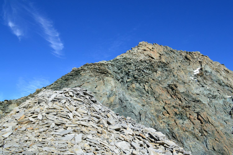 la Punta Marani vista dal colle