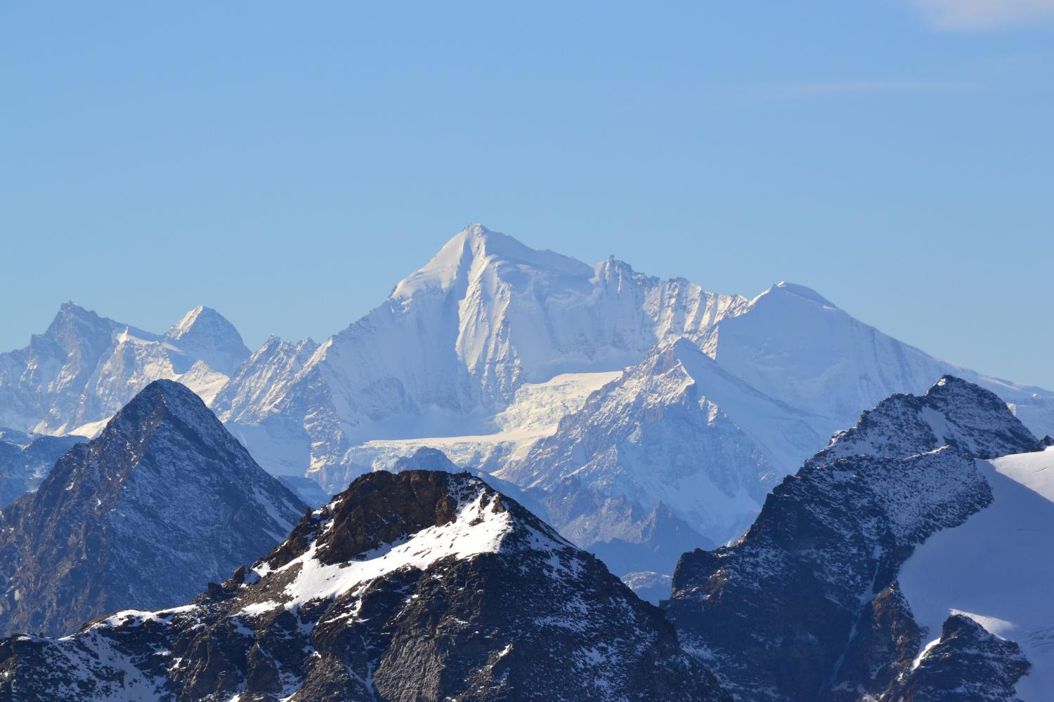 zoomata sul Weisshorn