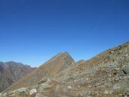 Mt. Rafray e percorso di salita dal col Fussy