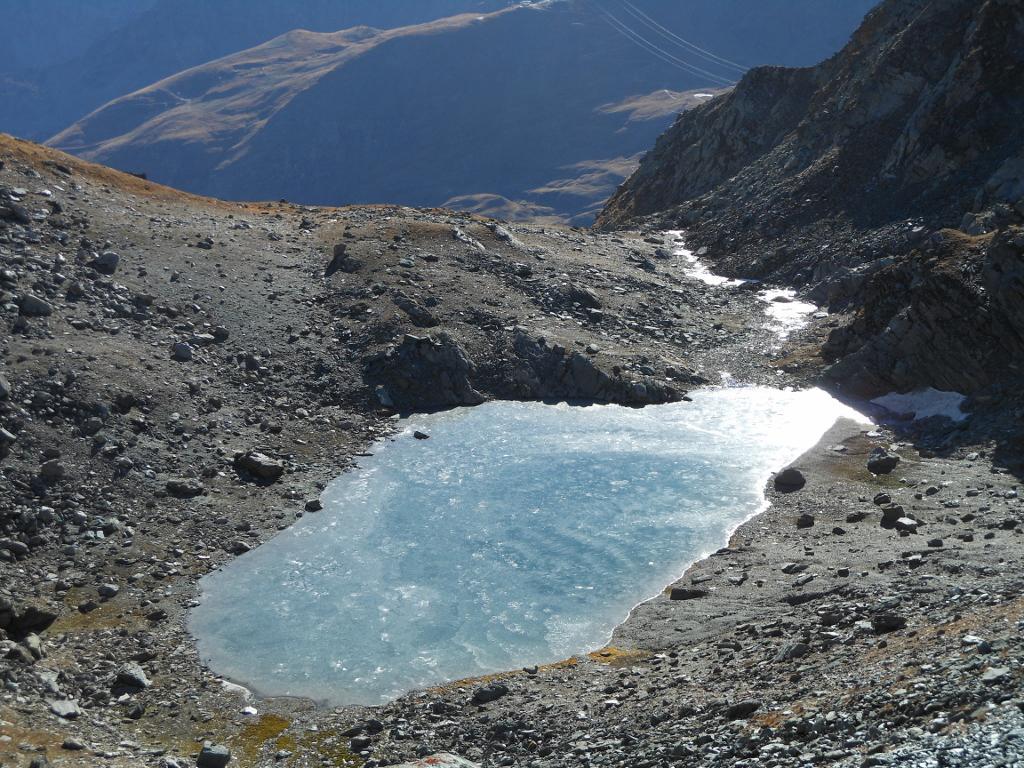 Lago Gelato dal Col Fussy