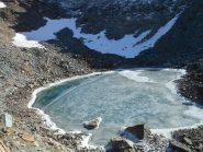 Lago sconosciuto sul versante NO del Glacier