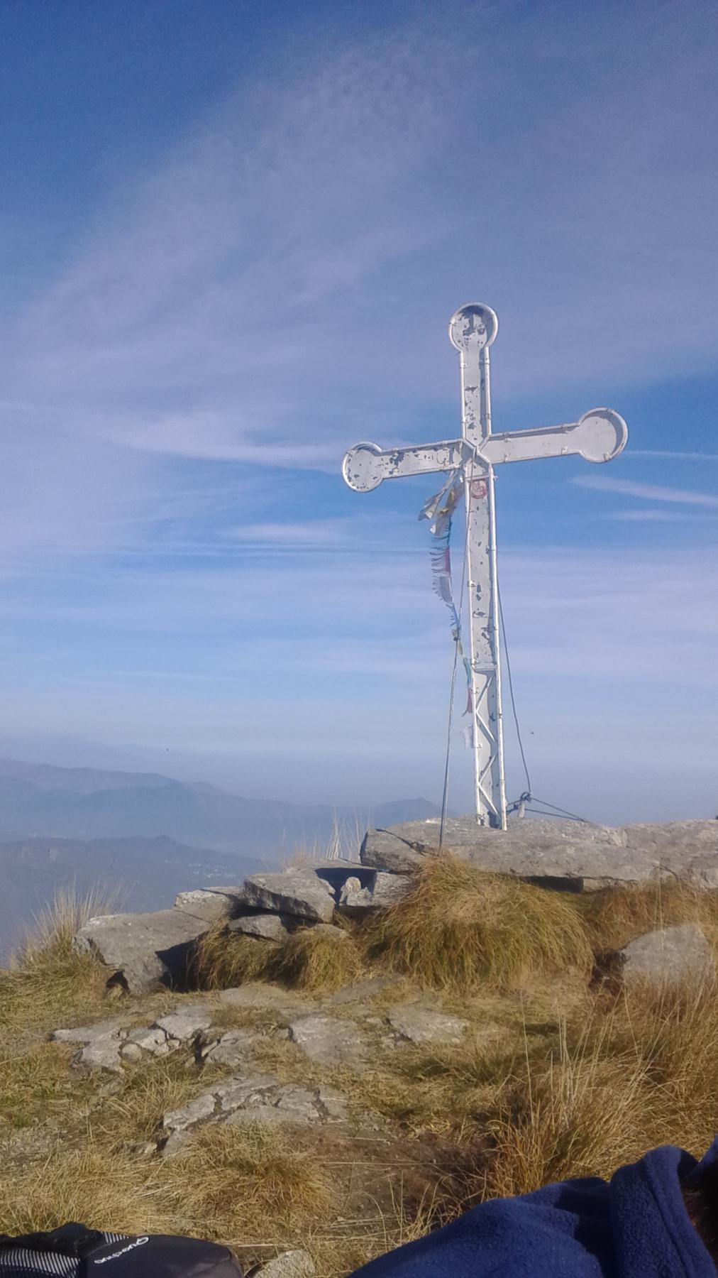 Aquila (Punta dell') dall'Alpe Colombino 2014-11-02