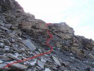 11 - roccette e pietraie insidiose con il verglas