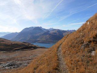05 - il sentiero militare è ottimo e dalle pendenze dolci fino a poco sotto il Col du Lou