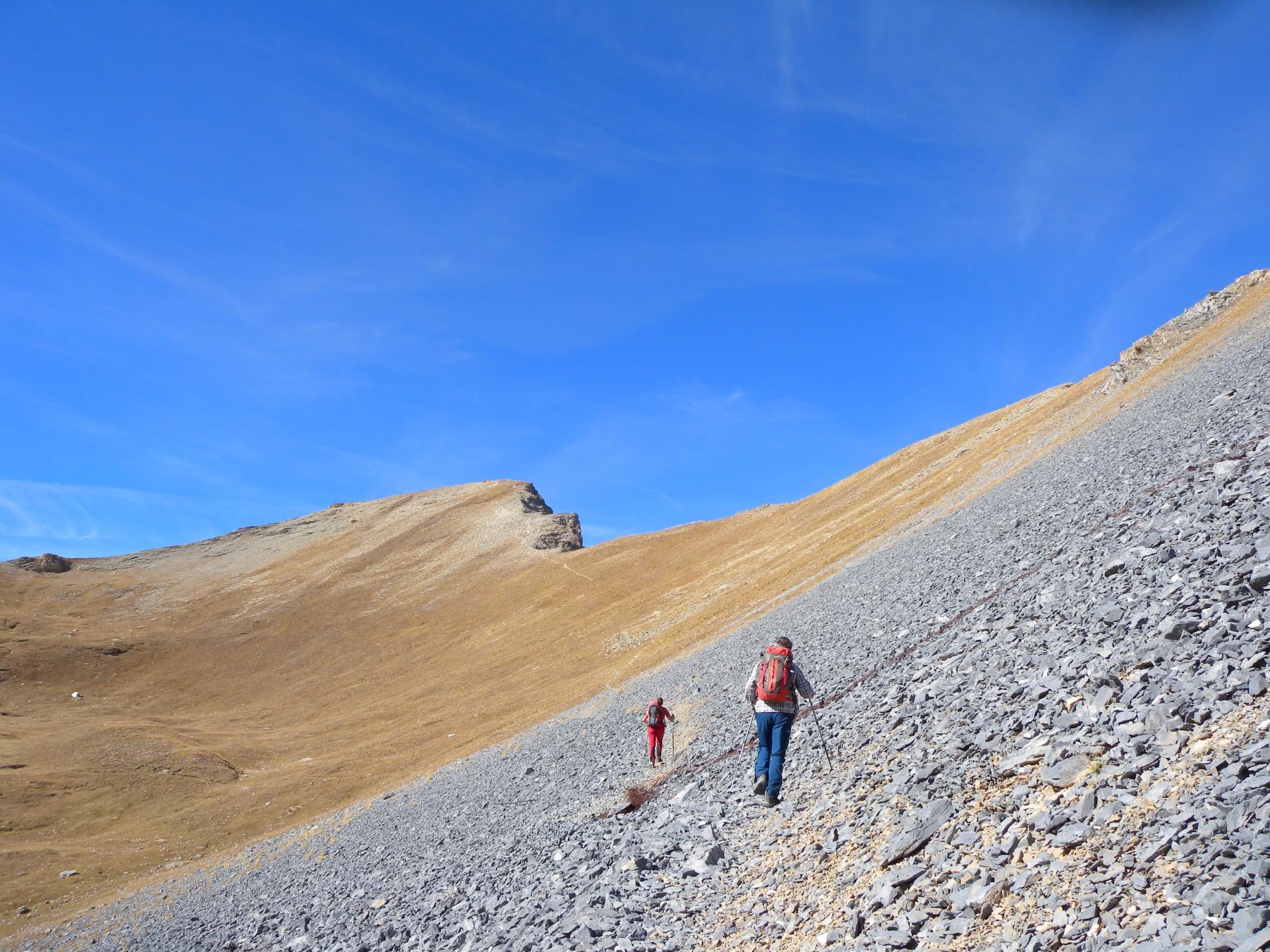 Soubeyran (Monte) da Saretto, anello per Passo della Cavalla, Colle delle Munie, Lago Apzoi 2014-11-02