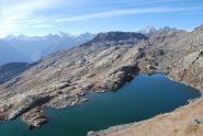 il gran lago di unghiasse, salendo