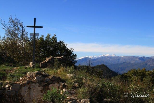 Bignone (Monte) da Albenga, anello per la Sella del Bignone 2014-11-07