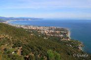 La costa e Albenga