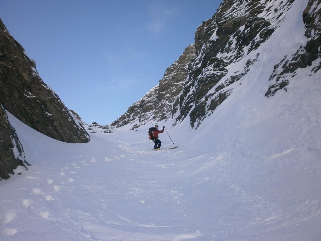 Alp (Punta de l') o Pic de Caramantran Canale NE 2014-11-08