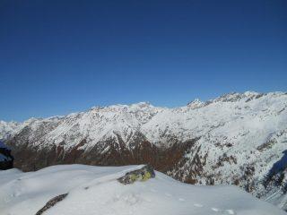 Panorama sulla conca di Niel