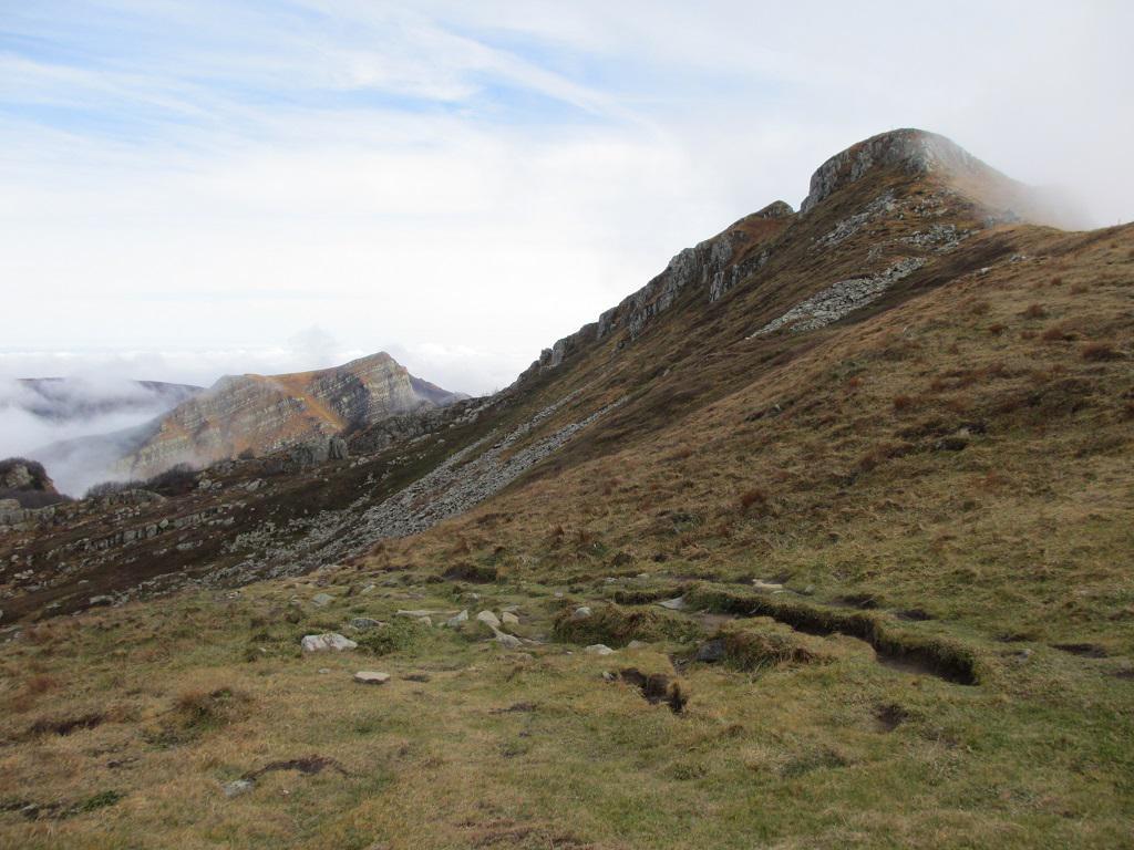 Orsaro e Marmagna (Monti) dal Passo Cirone, anello per il Lago Santo 2014-11-08