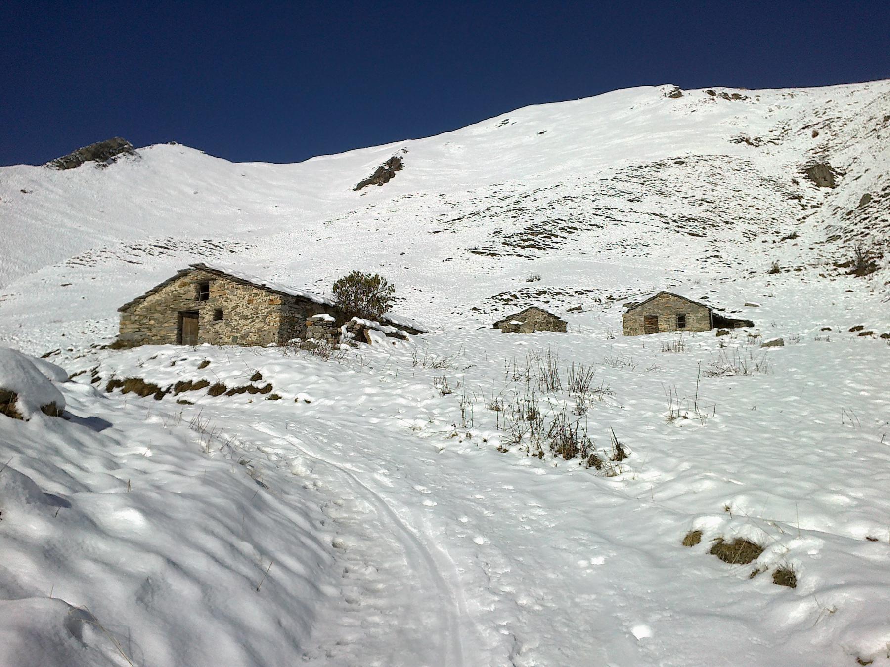 grange Nollo e vallone del Sibolet