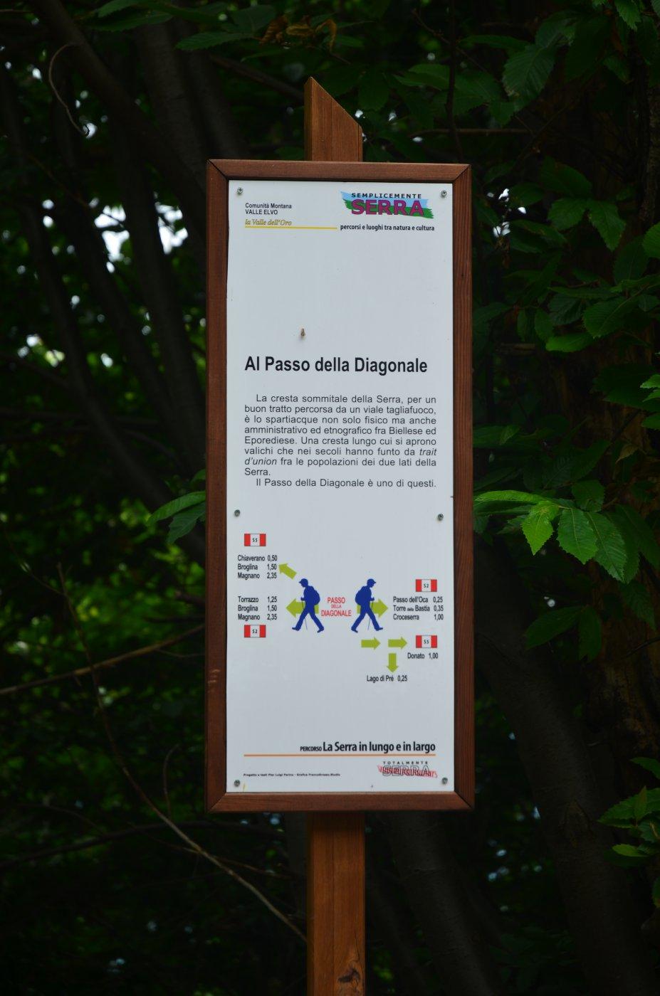Serra Morenica di Ivrea anello Andrate-Broglina da Ivrea 2014-11-09