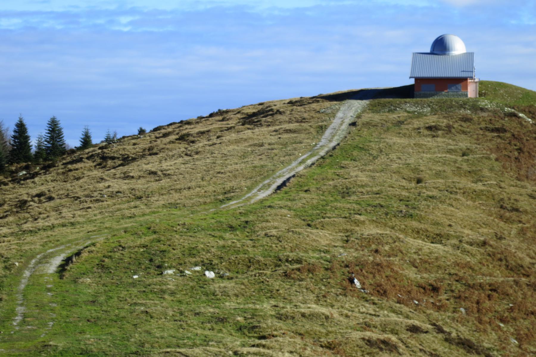 l'Osservatorio astronomico al col Morteis