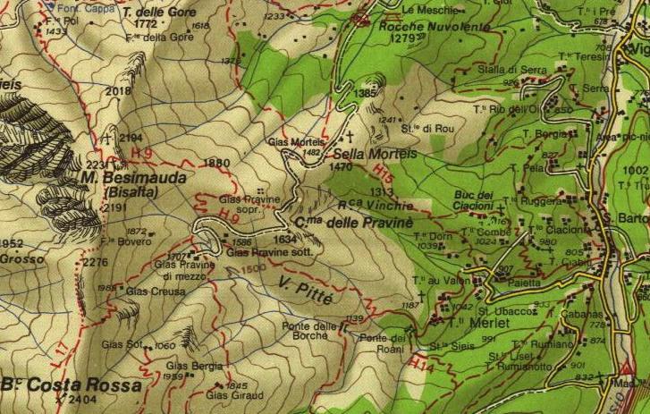 dettaglio dela cartina -zona utilizzata