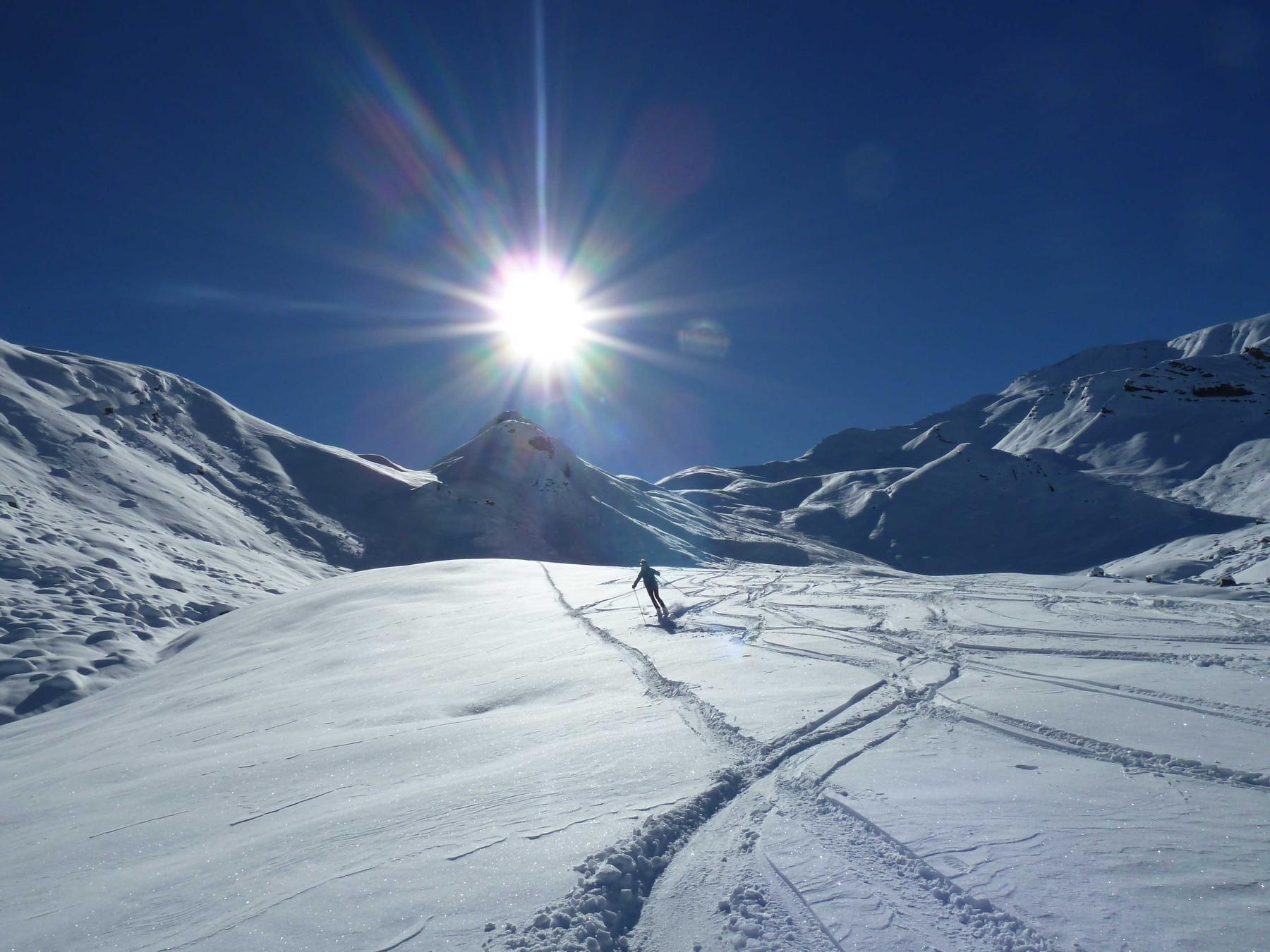 Parpaillon (Montagne de) dal Col de Vars 2014-11-13