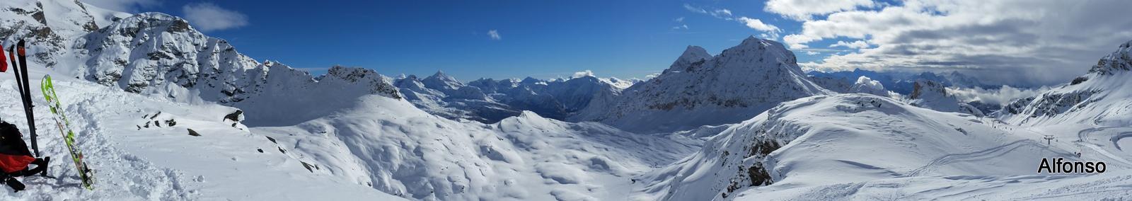 panorama dal Colle Superiore