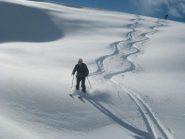 ...purtroppo c'era solo neve così...