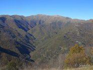 La valle verso il Monega