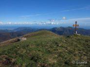 La croce del Guardiabella e il panorama